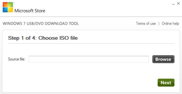 Программа для создания загрузочной флешки Windows USB/DVD Download Tool скачать бесплатно